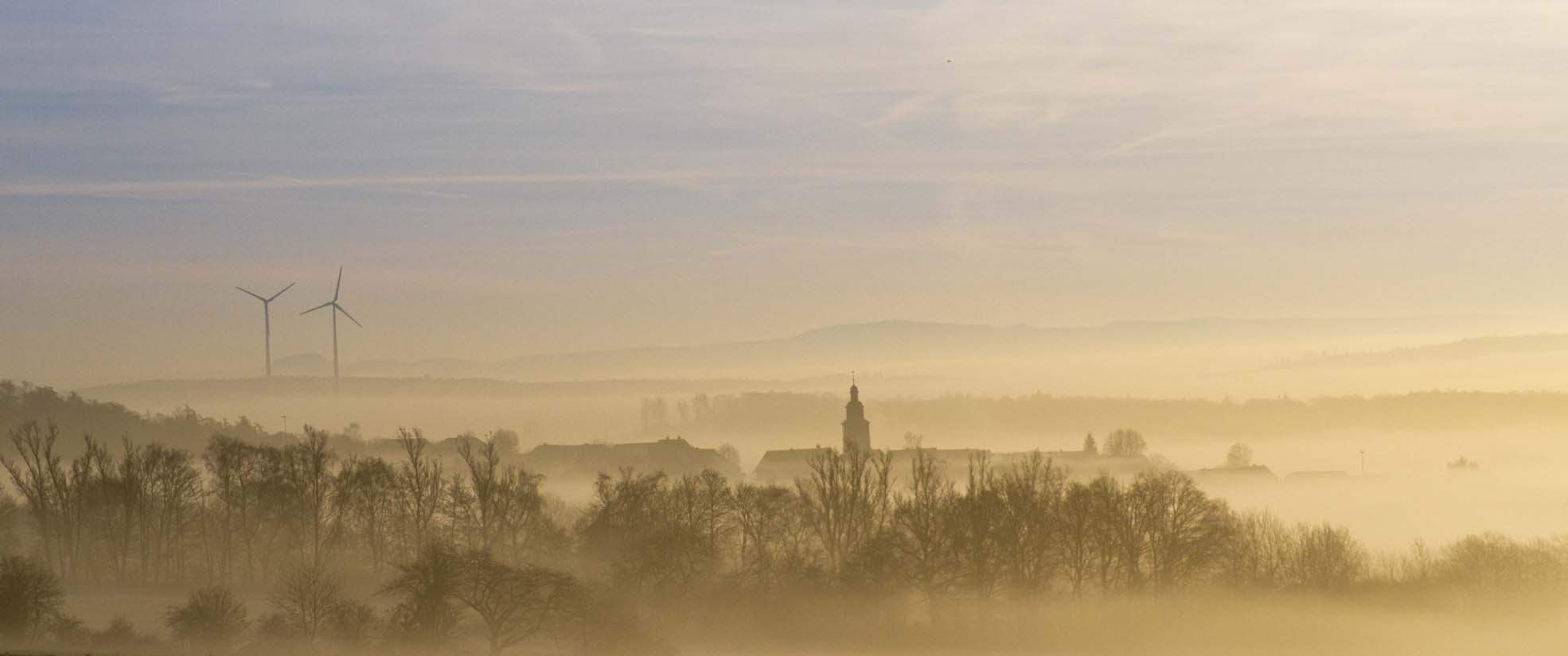 Nebelstimmung über Lautertal