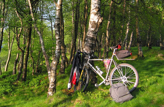 Radtour Westlicher Vogelsberg