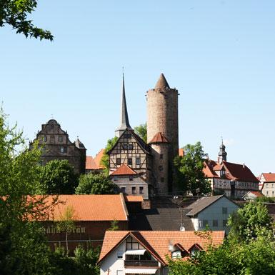 Burgenstadt Schlitz - Radtouren