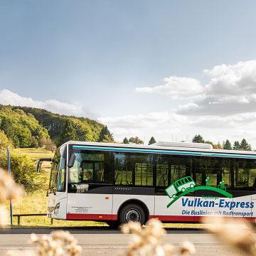 Radfahren im Vogelsberg - Vogelsberg Vulkan-Express
