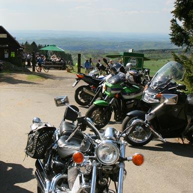 Motorradtour im Vogelsberg