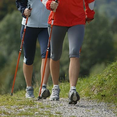 Nordic Walking in der Region Vogelsberg