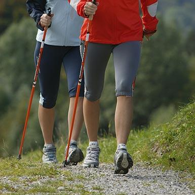 Nordic Walking in der Region Vogelsberg