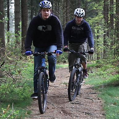 Mountainbike und Single Trail Routen