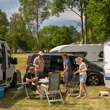 Camping- und Wohnmobilstellplätze