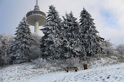 Schneezauber auf dem Hoherodskopf